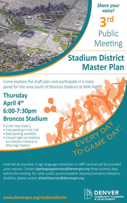 South Stadium Public Meeting #3